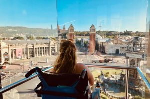 BUDDY Services Travel cycle management Elevator Plaza Espana